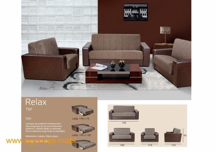 relax trosed dvosed i fotelja