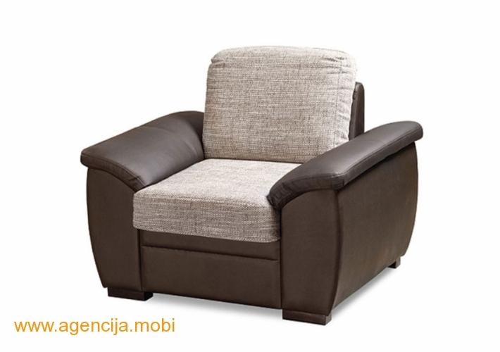 Fotelja CUBA I svetlo braon Matis Soko banja